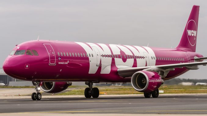 WOW Air to further downsize its fleet, reduces workforce