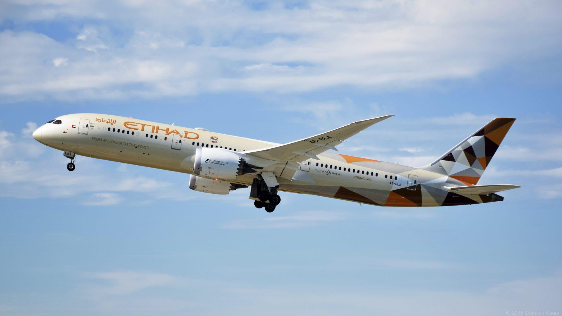 Etihad Airways To Deploy Boeing 787 On Flights To