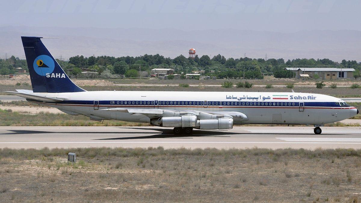 2019 Saha Airlines Boeing 707 crash