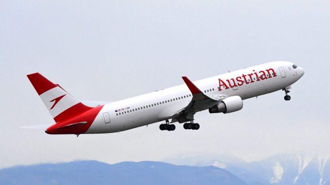 Austrian Airlines Boeing 767