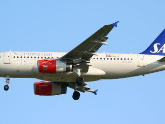SAS Airbus A319