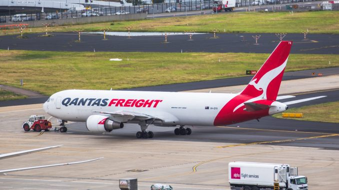 Qantas Freight Boeing 767F
