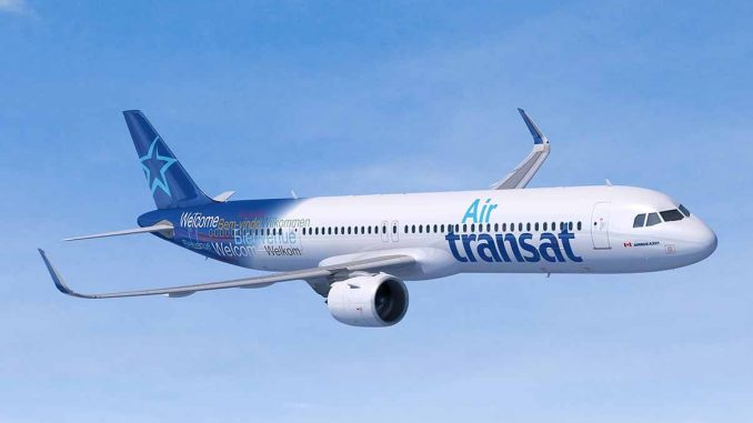 Air Transat Takes Delivery Of Its First Airbus A321lr