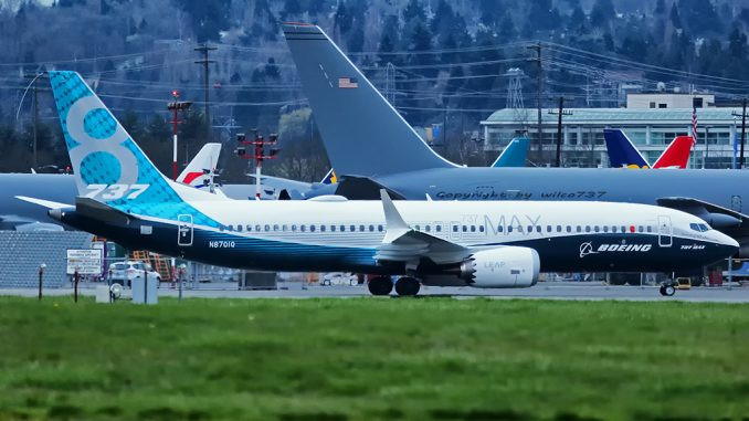 Boeing Receives First Order for 737 Max 8 Since Its Grounding