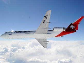 Helvetic Airways Fokker 100