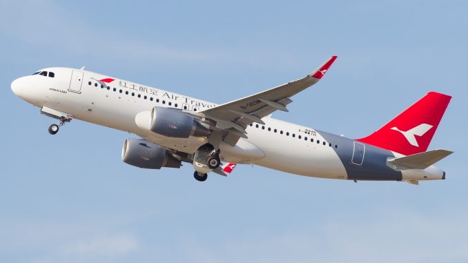 Air Travel Airbus A320neo