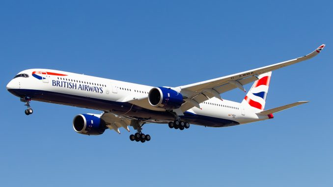 British Airways A350