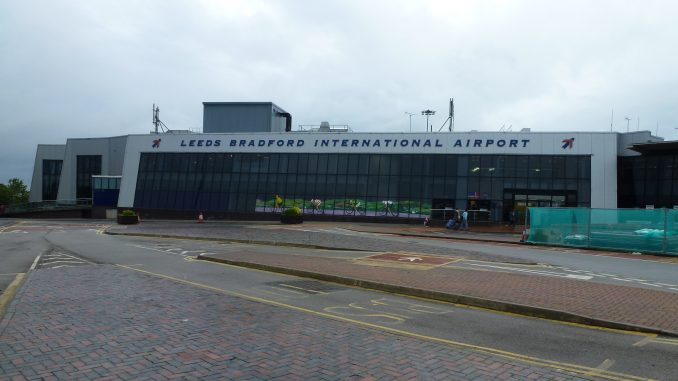 Leeds Bradford airport chaos as 'drone sighting' forces flights to be suspended