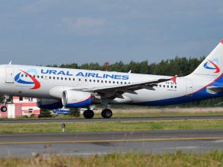 Ural Airlines Airbus A320