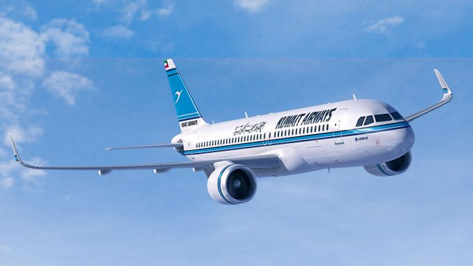 Kuwait Airways takes delivery of its first Airbus A320neo