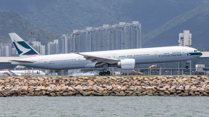 Hong Kong Airport Flight Operations Resume International Flight Network