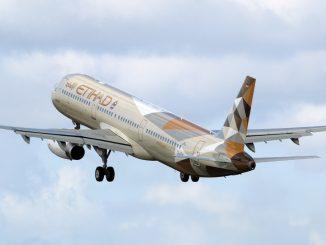 Etihad Airbus A321