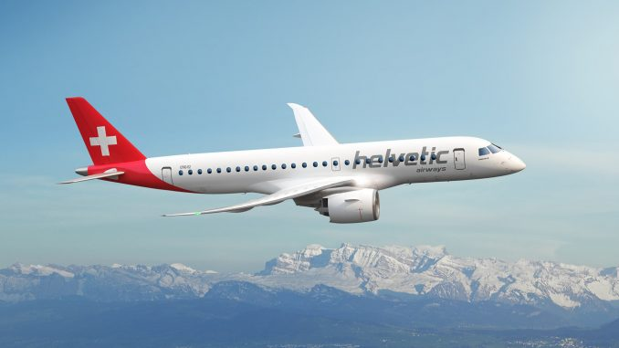 Helvetic Airways Embraer E190-E2