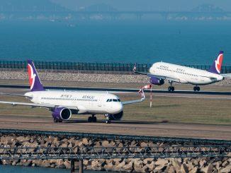 Air Macau Airbus A320s