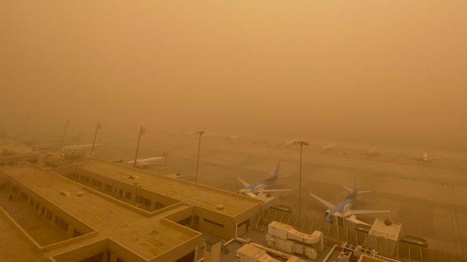 Gran Canaria Sandsturm