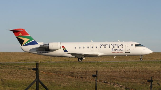 South African Express Bombardier CRJ-200