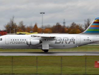 BRA Avro RJ aircraft