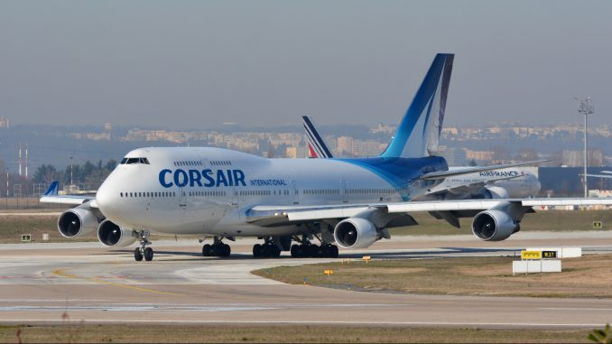 Corsair Boeing 747