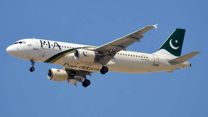 Pakistan International Airlines Airbus A320