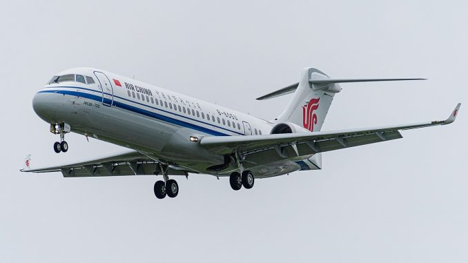 Air China Comac ARJ21-700
