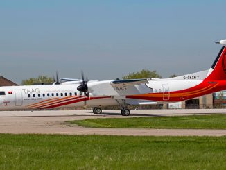 TAAG Angola Airlines De Havilland Canada Dash 8-400 aircraft
