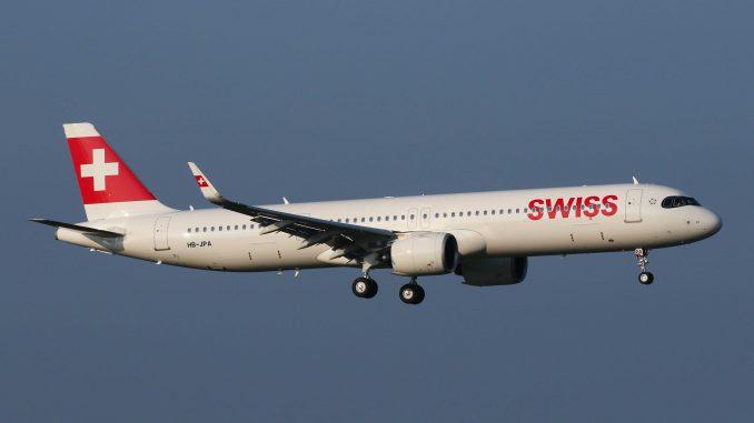 Swiss Airbus A321neo HB-JPA