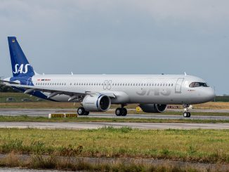 Airbus A321LR SAS Scandinavian Airlines