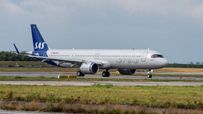 Airbus A321LR SAS Scandinavian Airlines