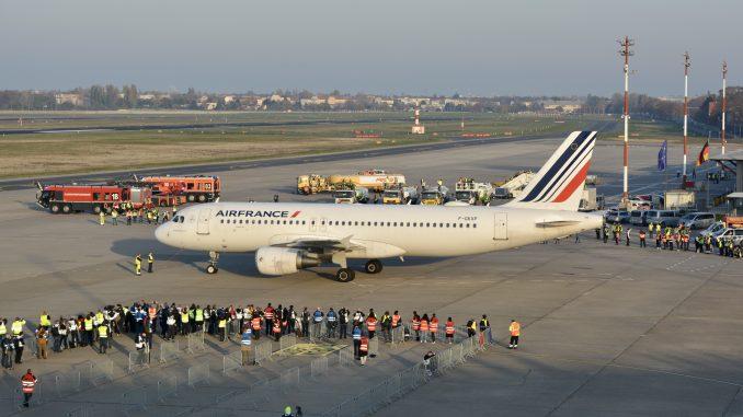 Air France Airbus A320 Berlin Tegel