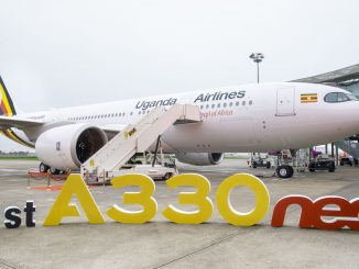 Uganda Airlines Airbus A330neo aircraft