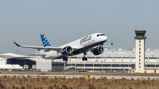 JetBlue Airways Airbus A220-300 aircraft