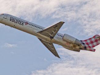 Volotea Boeing 717 aircraft
