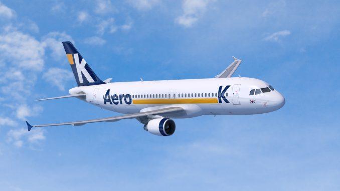 Aero K Airbus A320 aircraft