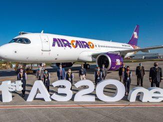 Air Cairo Airbus A320neo aircraft
