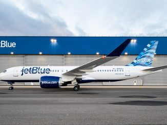 JetBlue Airways Airbus A220 aircraft