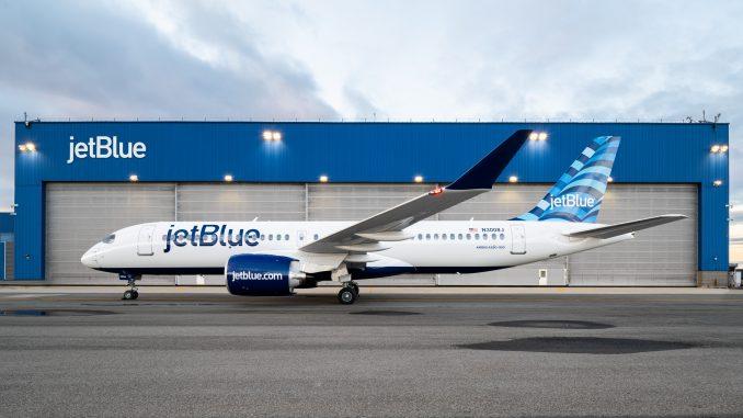 JetBlue Airways Airbus A220 aircraft