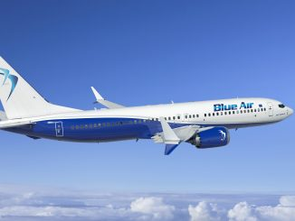 Blue Air Boeing 737 MAX 8 aircraft