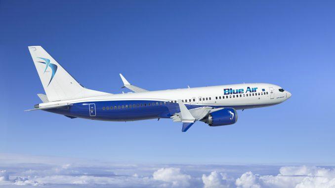Blue Air Boeing 737 MAX 8 aircraft