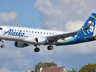 Alaska Airlines Embraer E175 aircraft