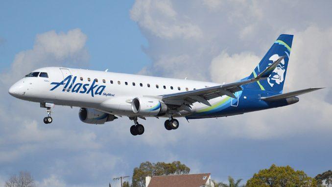 Alaska Airlines Embraer E175 aircraft