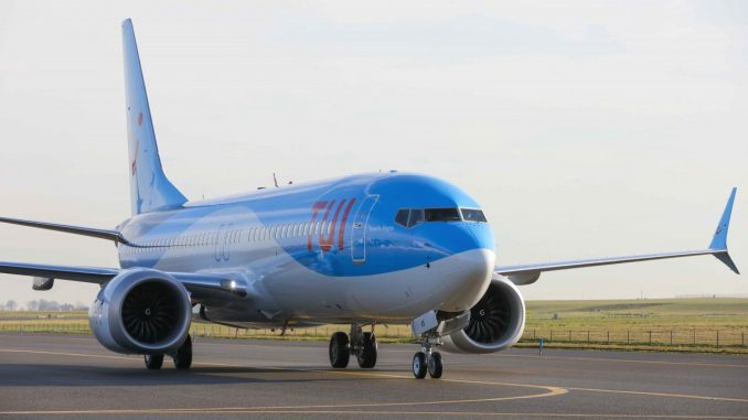 TUIfly Boeing 737 Max 8 aircraft
