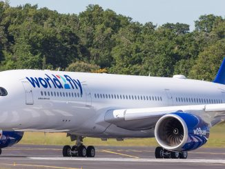World2Fly Airbus A350 aircraft