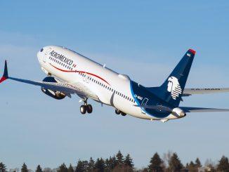 Aeromexico Boeing 737 Max aircraft