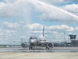 Aeroflot Airbus A320neo aircraft