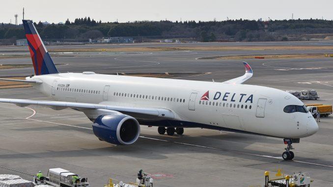 Delta Airbus A350-900 aircraft