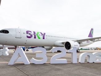 SKY Airline Airbus A321neo aircraft