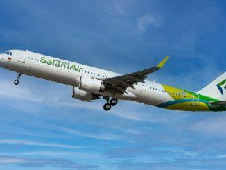 SalamAir Airbus A321neo aircraft